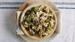 Beef & Asparagus Pasta Toss Horizontal