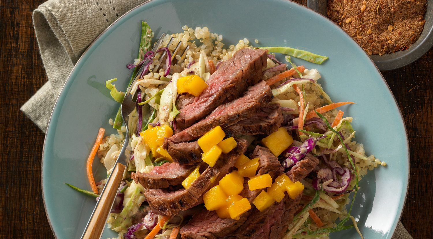 Jamaican-Style Jerk Steak Bowl