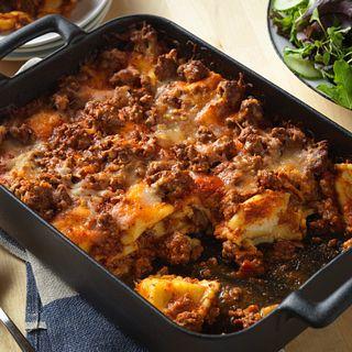 lazy beef lasagna