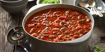 Cowboy Beef and Black Bean Chili