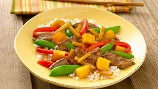 vegetable mango stir fry