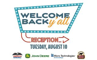 Welcome reception and sponsors