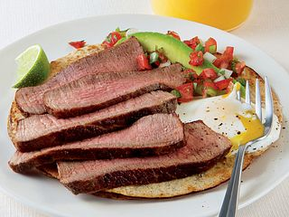 Baja Sunrise Steak and Eggs