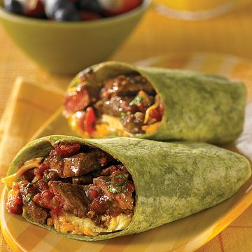 Get Up and Go Beef Burrito