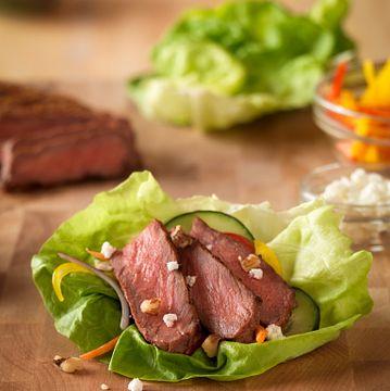 Inside-Out Grilled Steak Salad