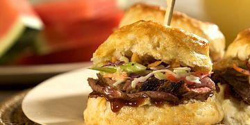 BBQ Beef Brisket Sliders