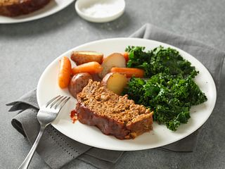 Slow Cooker Meatloaf and Vegetables