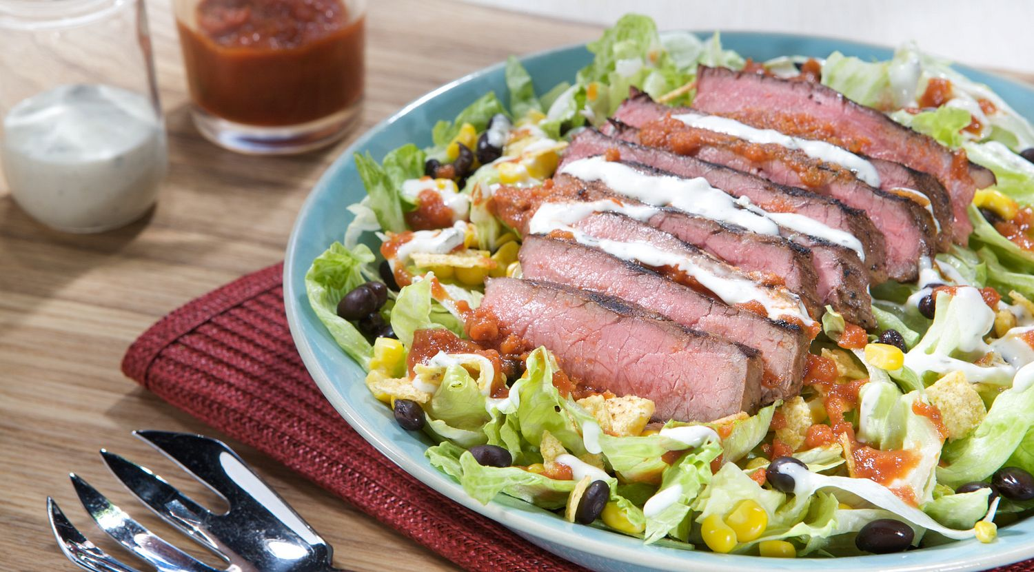 Red, White & Beef Salad