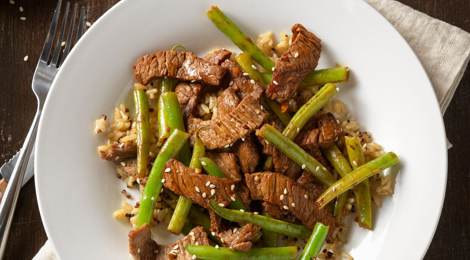Beef Stir-Fry with Green Beans