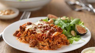 No-Fuss Beef Lasagna