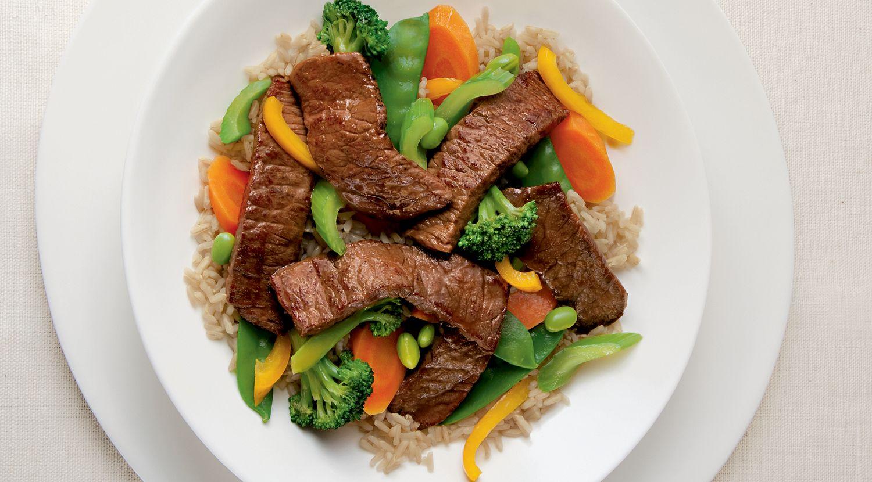 Sumptuous Steak Stir-Fry