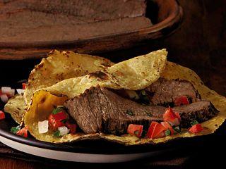 Braised Brisket Street-Style Tacos