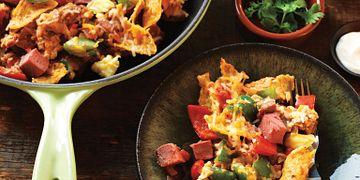 Beef & Egg Tamale Skillet