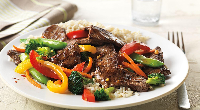 Asian Beef & Vegetable Stir-Fry