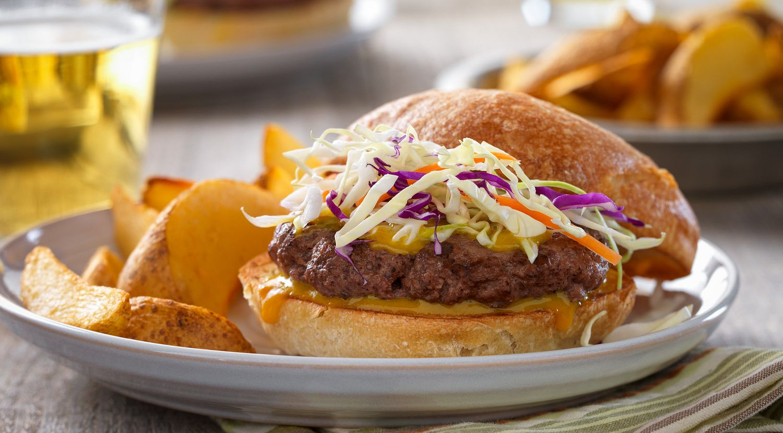 Carolina Barbecue Burgers