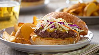 Carolina Barbecue Burgers