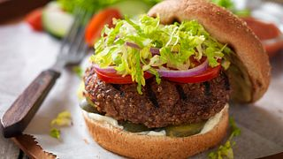 Beef and Grain Burger