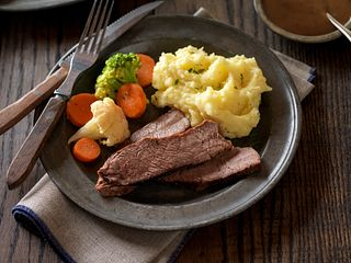 Simple Savory Beef Pot Roast