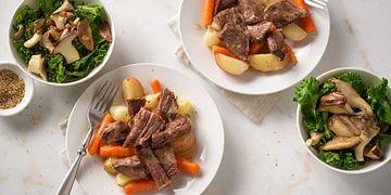 Lemon-Herb Beef Pot Roast