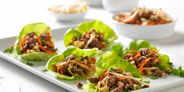 Sirloin Ramen Lettuce Bites