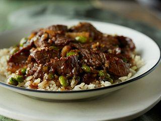 Mongolian Firepot Beef Bowl