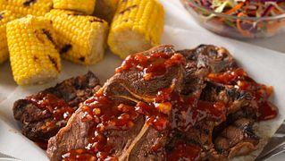 BBQ Beef Chuck Steak