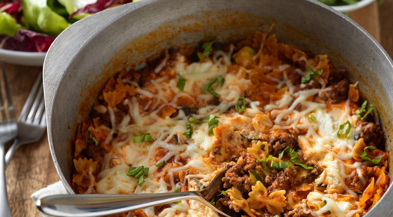 One Pot Lasagna Pasta