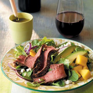 Beef, Mango and Avocado Salad