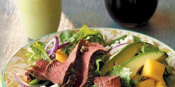 Beef, Mango and Avocado Salad