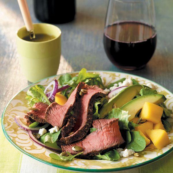 beef-mango-and-avocado-salad