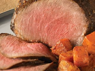 Ancho Chili-Rubbed Beef Roast
