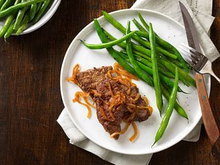 Classic Beef Liver and Onions