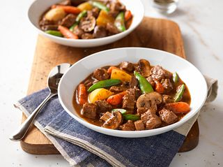 Red-Eye Beef Stew