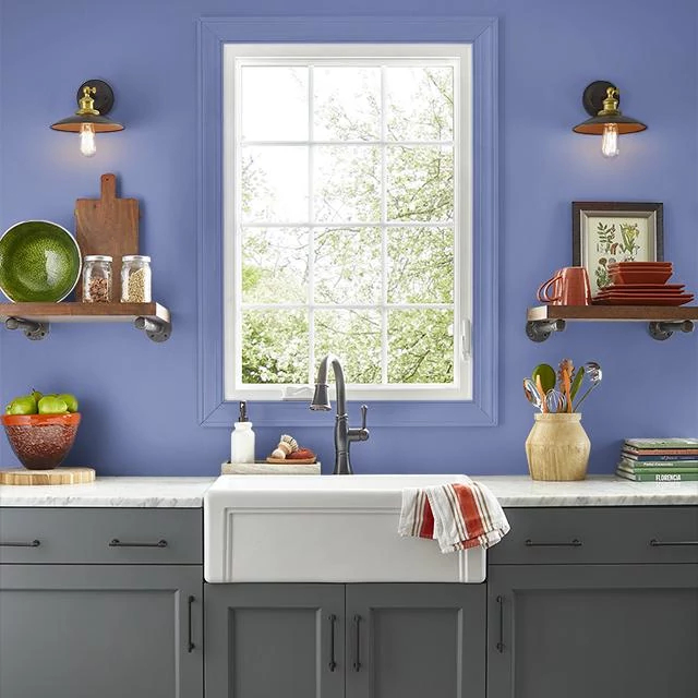 Kitchen painted in GENIE