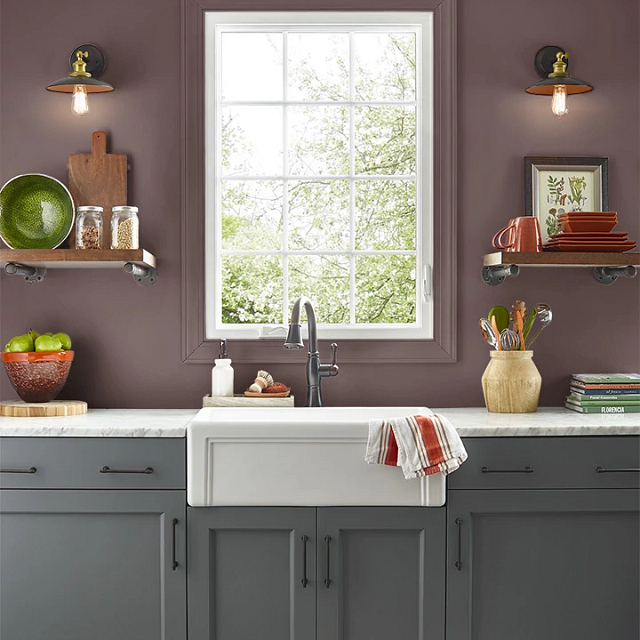 Kitchen painted in BOOKMARKER