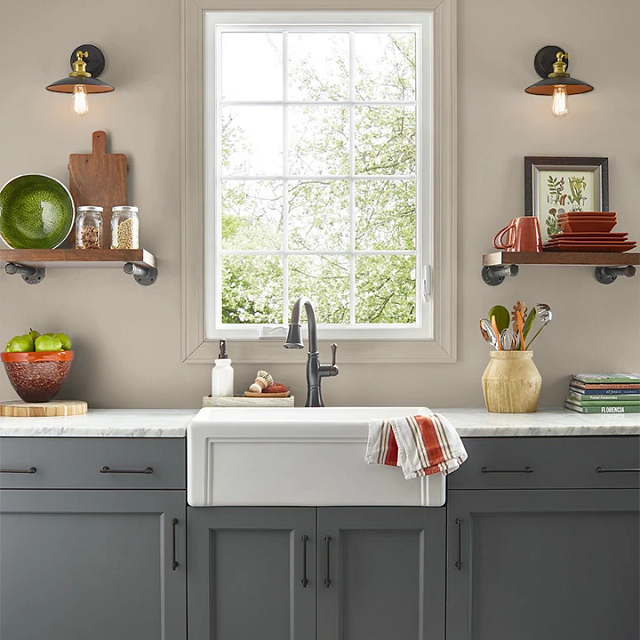 Kitchen painted in ANTIQUITY