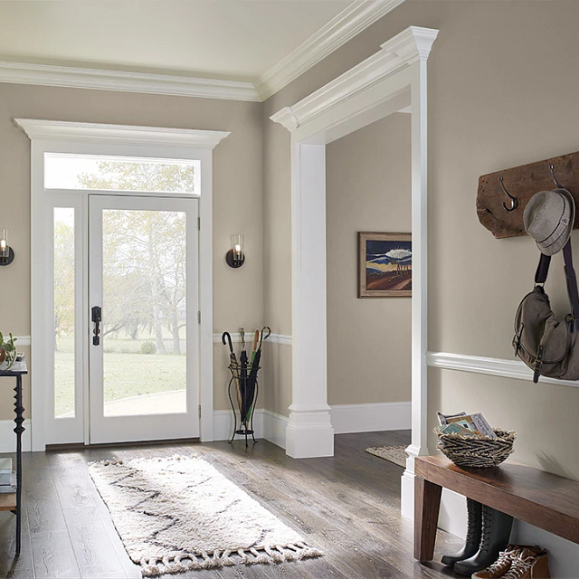 Foyer painted in ANTIQUITY
