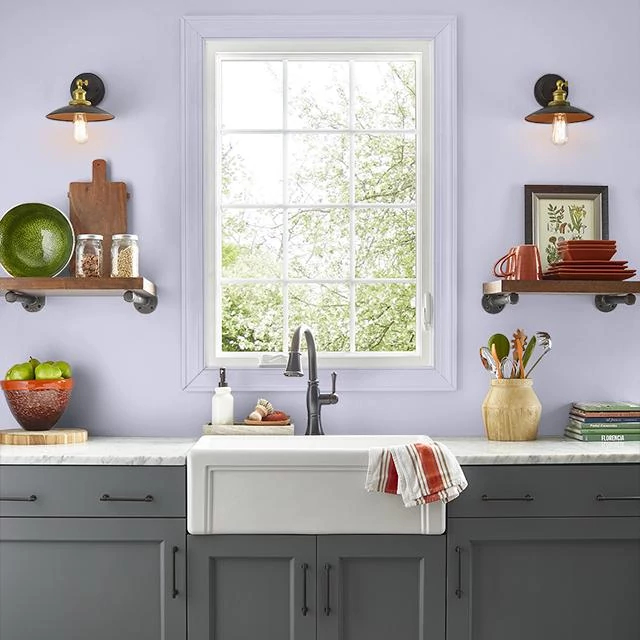 Kitchen painted in SOAPY WATER