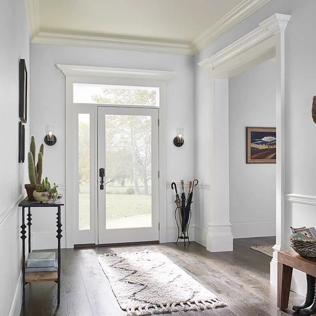 Foyer painted in GENESIS