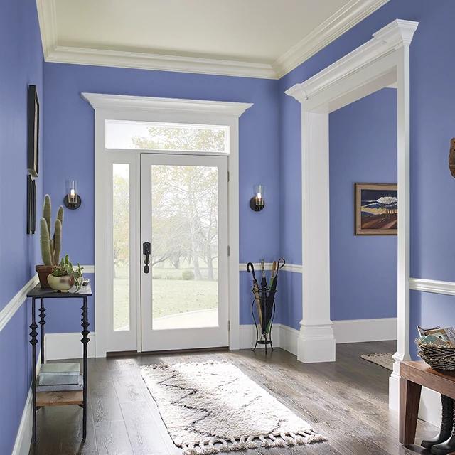 Foyer painted in GENIE