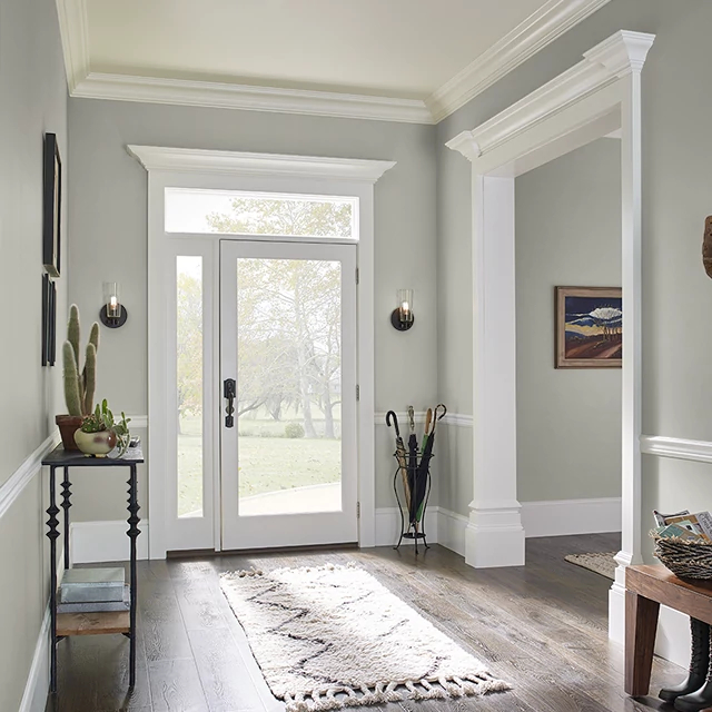Foyer painted in SIMPLY NEUTRAL
