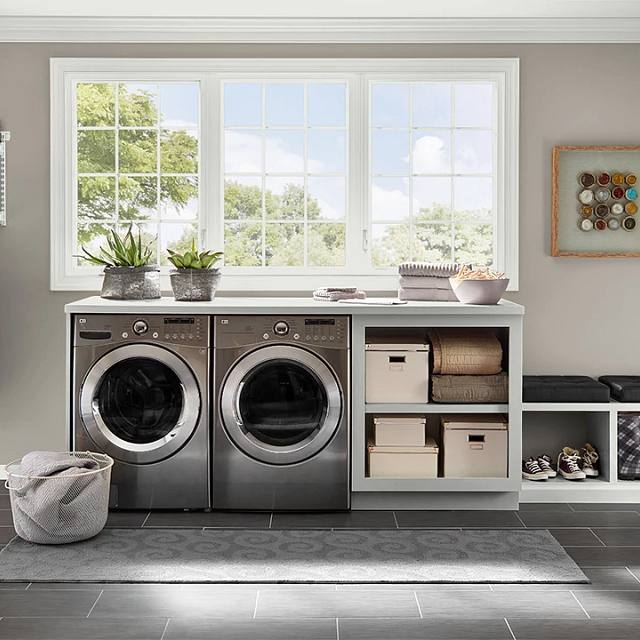 Laundry painted in GREYSWOOD