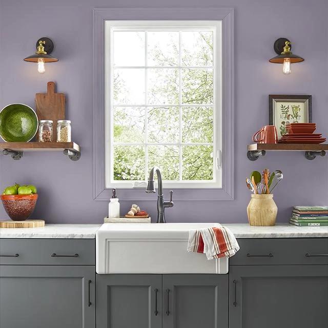 Kitchen painted in JUPITER
