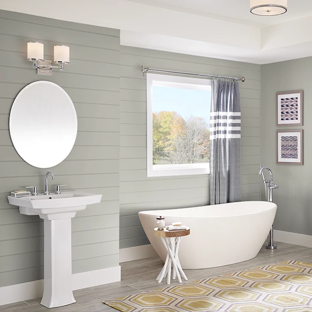 Bathroom painted in SIMPLY NEUTRAL