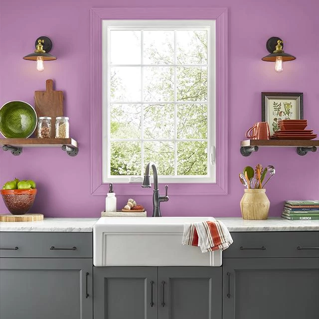 Kitchen painted in FAVORITE THINGS