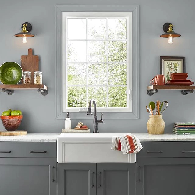 Kitchen painted in SERVING PLATTER