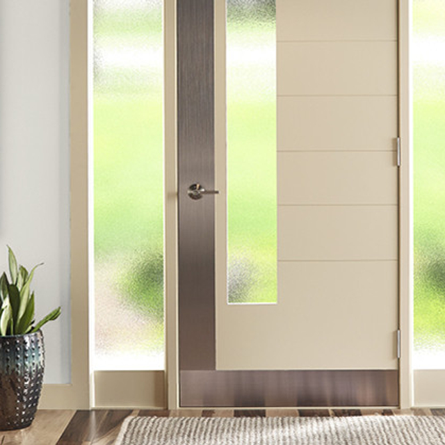 Entryway painted in ARCHITECTURAL WHITE