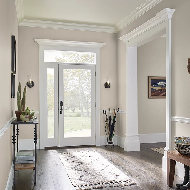 Foyer painted in SOPHISTICATION