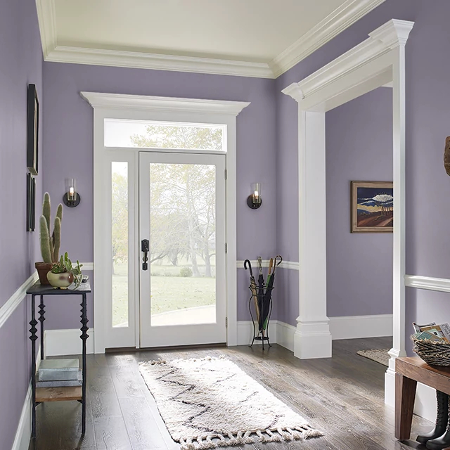 Foyer painted in JUPITER
