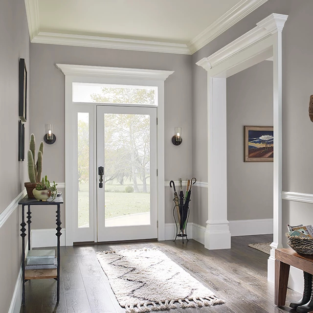 Foyer painted in HISTORIC MONUMENT